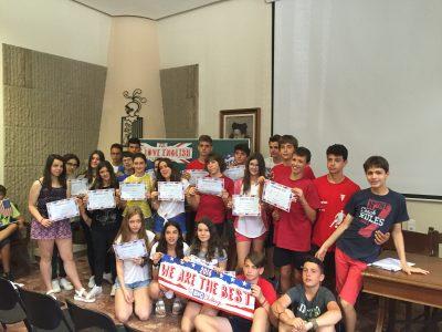 Los alumnos de 2o ESO, colegio Teresià de Tortosa