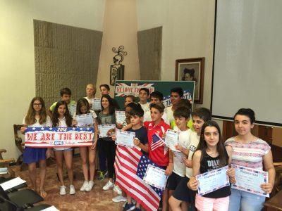 Los alumnos de 1ro de la ESO, colegio Teresià de Tortosa