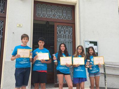 Los primer classificados de la provincía. Colegio Teresià Tortosa