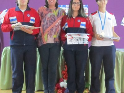 Ganadores 3º ESO. Colegio Santiago Apóstol. Ponteareas.