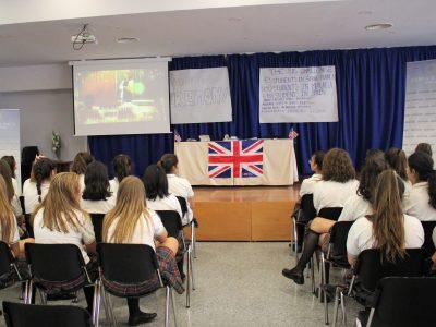 Entrega de premios en el Colegio Sierra Blanca, Málaga