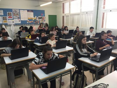 MOLINS DE REI - COL·LEGI VIROLAI Our ESO students participating in The Big Challenge!