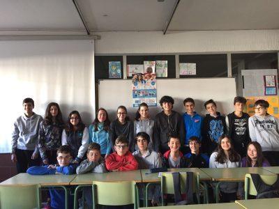 IES RÍO DUERO, ZAMORA,España Alumnos de 2 ESO que han participado en el BIG CHALLENGE 2016