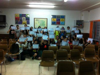 Todos los participantes en el BIG CHALLENGE 2016 del ÍES Río Duero de Zamora