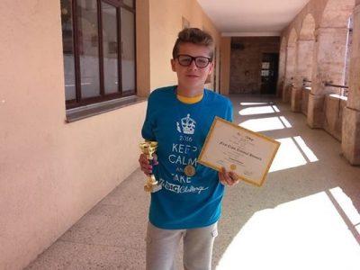 MIGUEL SÁNCHEZ SÁNCHEZ. Primer Premio Big Chalenge 2016 (1ESO). Colegio Maestro Ávila. Salamanca. Castilla y León