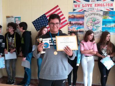 Colegio Mª Auxiliadora - Lugo. Pablo Tejeda (3ºESO) Ganador absoluto