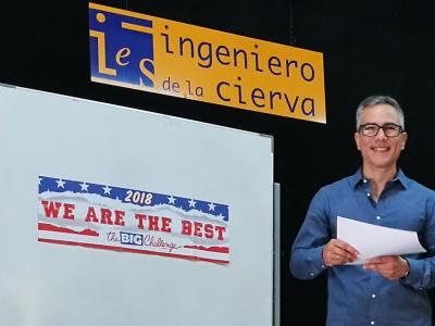 Patiño (Murcia) - IES Ingeniero de la Cierva. Gracias a todos los alumnos del centro que han participado este curso.
