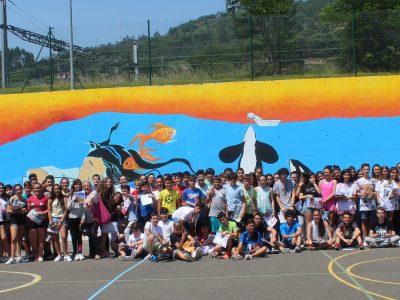 Oviedo, IES La Corredoria Todos nuestros participantes tras la entrega de premios