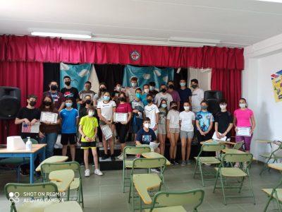 ALMERÍA, IES EL ALQUIÁN. En esta foto aparecen el resto de alumnos de 3º y de 2º ESO