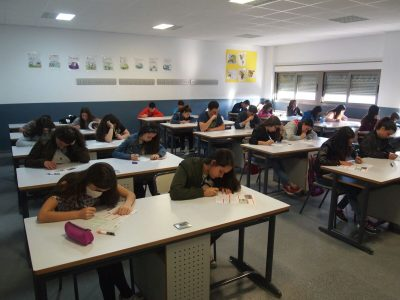 I.E.S.O CÁPARRA, Zarza de Granadilla (Cáceres). Mucha suerte a todos los alumnos participantes