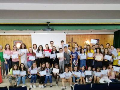 The Big Challenge 2019. Entrega de premios Colegio Corazón de María. Zamora