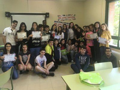 IES CARPETANIA, Yepes (Toledo) Premios Concurso Big Challenge Edición 2017-18. Congratulations. Great work!