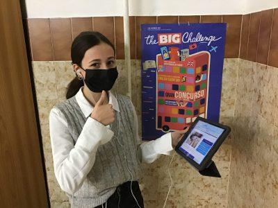 Paula Montal School (Vitoria-Gasteiz)  Con la pandemia y nuestras mascarillas, The Big Challenge es el punto de arranque del final de curso