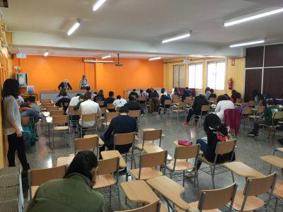 Instituto Príncep de Girona-Barcelona-España 51 students facing a BIG CHALLENGE!!!