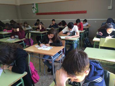 Institut La Romànica,Barberà del Vallès,Barcelona,España  Concentrados!