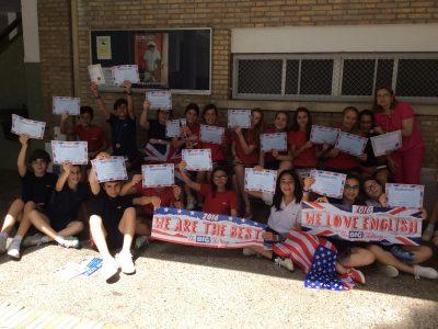 Colegio La Salle Buen Pastor, Jerez. Entrega de los premios a los alumnos de 1° y 2° de E.S.O.