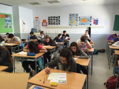 IES Sección Clot del Moro de Sagunto,Valencia,España. 48 de nuestros alumnos participaron y estaban muy motivados