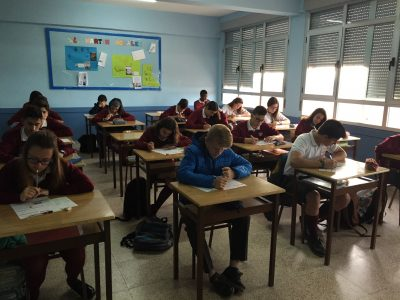 """Tordesillas Colegio Divina Providencia """"Máxima concentración """""""
