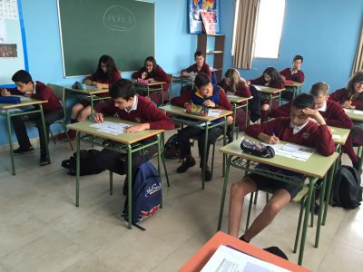 "Tordesillas Colegio Divina Providencia ""Doing the best"""