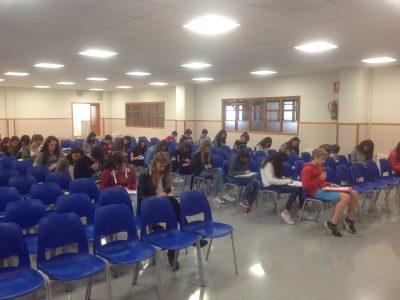 Manyanet School - Molins de Rei. Nuestros alumnos participando en The Big Challenge!