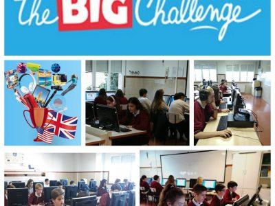 Sagrat Cor El Vendrell  Un gran número de alumnos de nuestro centro participan en el concurso nacional de inglés The Big Challenge. Good luck!