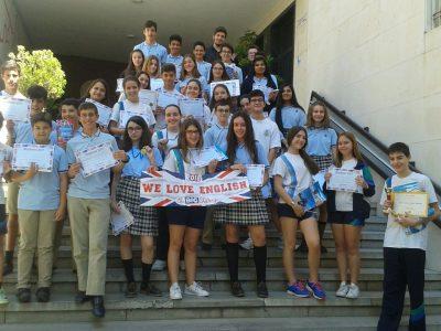 Oviedo, IES La Corredoria Alumnado con mejores resultados en 1º ESO