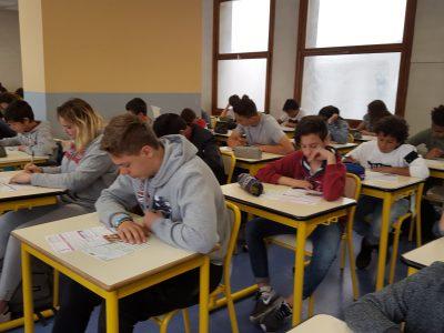 TOULON, Institution Notre-Dame. Félicitations aux 114 élèves qui ont participé au concours!
