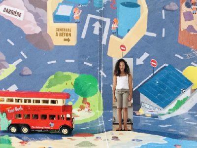 Rencontre d'un bus à impériale à La Rochelle !!!
