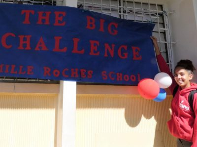 Ready, steady,go! Opening of The Big Challenge 2018 Awards Ceremony at Mille Roches School (Saint - André , REUNION)