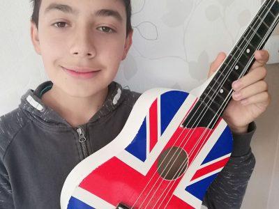 Collège de l'Argentor  Champagne-Mouton  J'aime l'Angleterre et sa musique !
