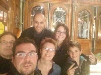 castelnaudary blaise d'auriol   moi et ma famille en tant que touriste ps: c'etait il y a longtemps