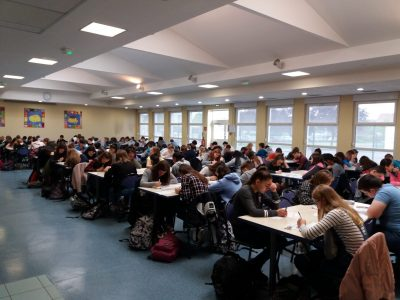 134 pupils ready for today's Big Challenge in Collège Kléber Haguenau !