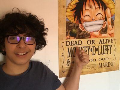 Paris, collège sainte Anne sainte Marie. J'ai choisi ce poster en référence à l'époque des westerns de leurs avis de recherches et aussi car j'aime One Piece.