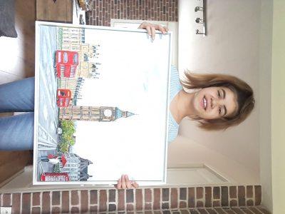 Guipavas, Saint charles Londres en peinture