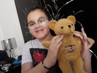 St cyr sur mer, don bosco collège  Jai acheté ce teddy bear durant mes vacances à Londres. Super souvenir