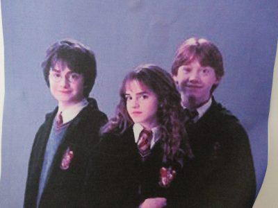 Belleville sur vie Saint exupery, Harry Potter is celebrated English