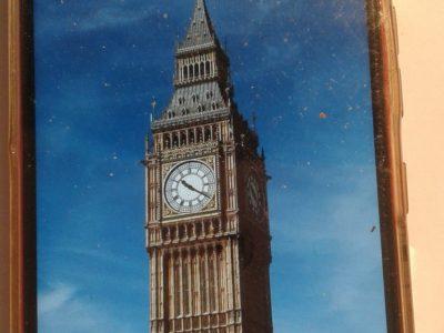 Ville arudy .Collège d'Ossau . Big ben la célèbre horloge de Londres