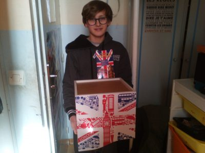 Domont , collège Aristid Briand. I love England!!!