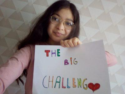 Amiens , César Franck. J'ai participé au Big challenge il était Super j'ai bien aimer j'ai donc dessiner une petite affiche . ☺