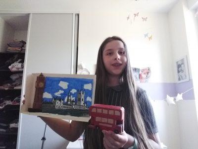 Villemonble Saint Louis j'ai fabriquer cette maquette toute seule !!!