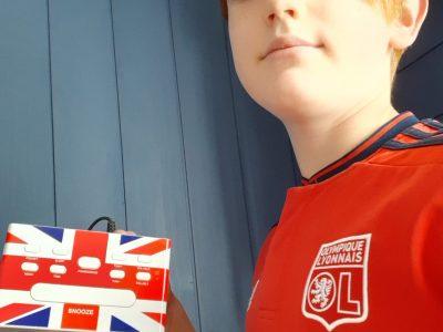 Courpiere  Institution st pierre  Une photo avec mon réveil du royaume uni