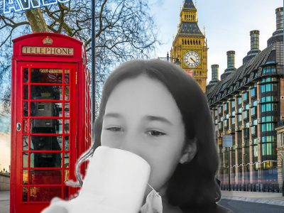 Mmmhhh what a delight this London tea  Rosny sous bois  Collège St exupery 93110