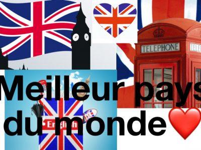 Département Isère  Ville vienne  Collège Saint Charles  L'Angleterre le meilleure pays du monde ❤️