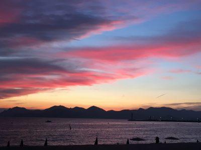 ''The miracle sunset '' Cannes Collège André Capron Cannes Viktoria Sergeeva 6ème3