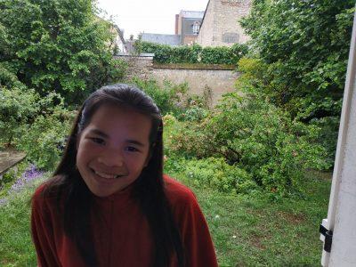 Orléans - Collège Saint-Charles Marguerite Mattlinger - Selfie English garden - English weather