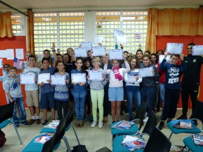 Collège Joseph Hubert St Joseph Ile de la Réunion We love English in our school and we are proud of our results inthe Big Challenge!