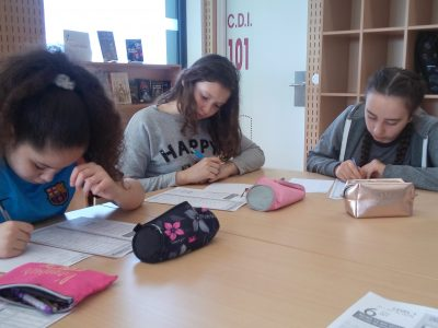 Les élèves de 6ème sont venus s'entraîner la semaine avant le JOUR J ! AU TOP!  Collège Cesaria EVORA MONTREUIL 93