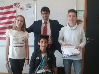 Our 7th graders...Collège Jules Verne Varces 38