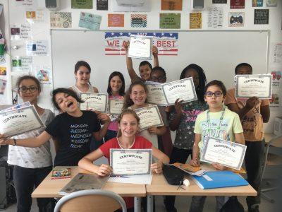 LA CELLE SAINT-CLOUD, COLLEGE VICTOR HUGO Les élèves de la classe de 6°3 et leurs récompenses