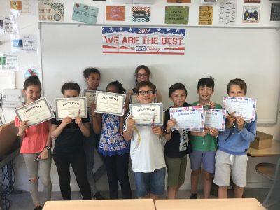 LA CELLE SAINT-CLOUD, COLLEGE VICTOR HUGO Les élèves de 6ème et leurs récompenses